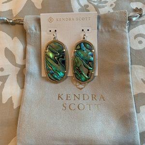 Kendra Scott Abalone Danielle earrings